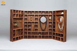 طراحی جعبه جواهرات چوبی