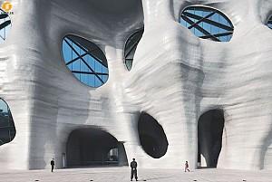 معماری ارگانیک: طراحی نمای ساختمان مرکز هیمالیای شانگهای
