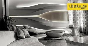 معماری پارامتریک: معماری داخلی خانه ای در دهلی