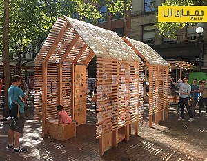 معماری و طراحی غرفه ی