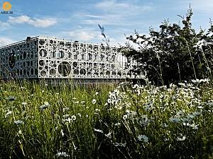 معماری و طراحی دانشکده ی فنی SDU