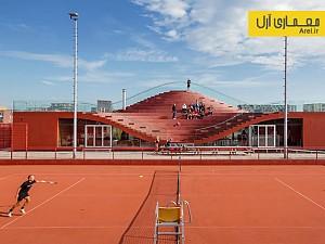 معماری باشگاه تنیس IJburg