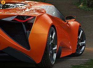 طراحی خودروی Vensepto توسط کمپانی قرقیزستانی