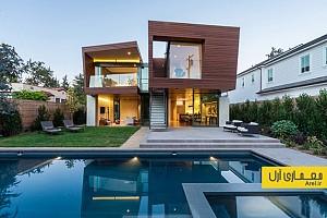 معماری و طراحی داخلی ویلای مدرن در آمریکا