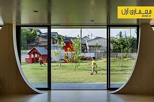 معماری منظر: طراحی منظر محوطه ی مهدکودک Yutaka
