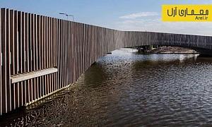 معماری و طراحی پلی مناسب برای سکونت خفاش ها!