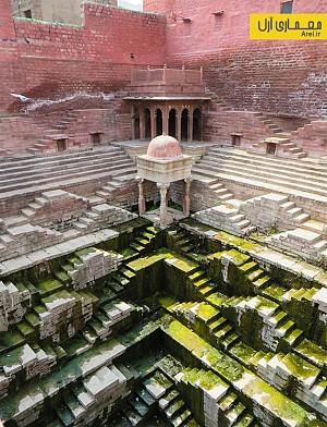 تصاویری شگفت انگیز از معماری زیرزمینی هند