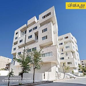 طراحی مجتمع مسکونی همسایه، رتبه سوم مشترک جایزه معمار 94