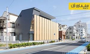 معماری و طراحی اولین خانه ی تمام چوبی چند طبقه ی توکیو