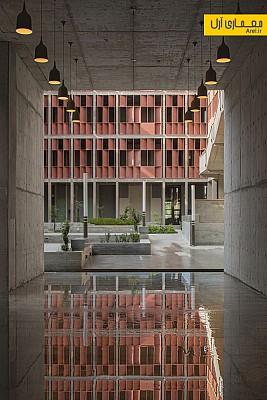 معماری و طراحی انستیتوی مهندسی و تکنولوژی در دانشگاه احمدآباد هند