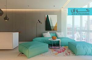 طراحی داخلی آپارتمان ساده و زیبا، بررسی 2 آپارتمان