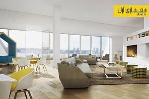 نگاهی به طراحی داخلی یکی از آپارتمان های برج کورت از گروه معماری بیگ