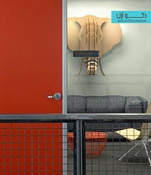 طراحی داخلی دفتر کار شرکت Evernote