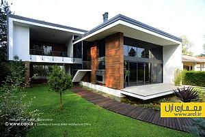 طراحی و معماری ویلای فردوس، رتبه ی دوم دوسالانه معماری و معماری داخلی 93