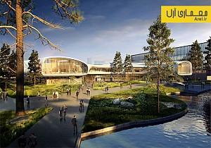 معماری و طراحی مرکز تحقیقات Huawei در کشور چین
