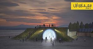 معماری و طراحی هتل یخ در سوئد