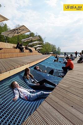 معماری منظر: طرح احیای منظر ساحل دریاچه ی Paprocany