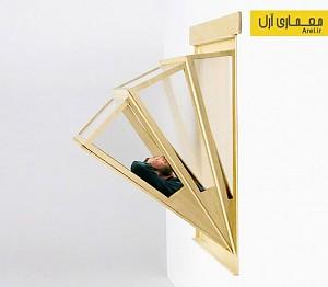 طراحی پنجره مدولار با نام آسمان بیش تر