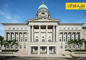 تلفیق معماری کلاسیک و مدرن در بازسازی گالری ملی سنگاپور