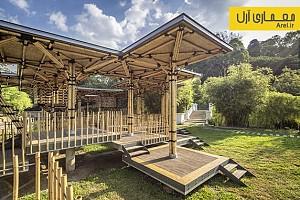 معماری و طراحی غرفه ای برای بازی بچه ها در کوالالامپور