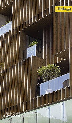 ساختمان اداری تجاری سعادت آباد، رتبه سوم جایزه معمار 94