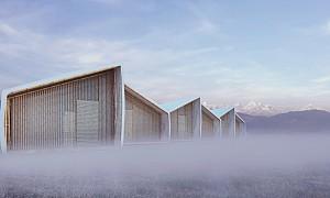 معماری و طراحی مسکنی موقت برای زلزله زدگان
