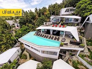 معماری و طراحی اقامتگاه تفریحی در میان درختان در تایلند
