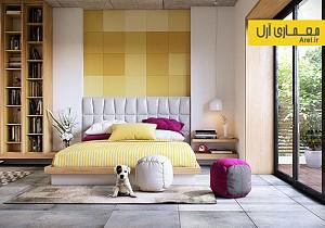 ایده هایی برای دیوار اتاق خواب