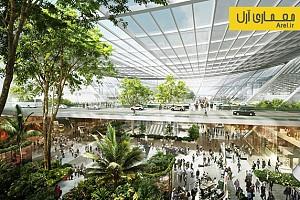 معماری و طراحی ترمینال  فرودگاه Taoyuan در تایوان