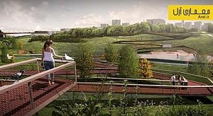 معماری منظر: طراحی منظر دره ی Beylikdüzü در ترکیه