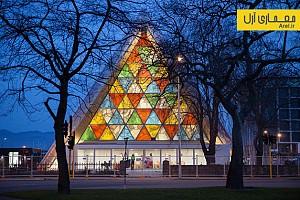 معماری و طراحی کلیسایی با مقوا توسط شیگرو بن