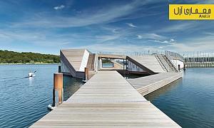 معماری و طراحی باشگاهی شبیه به قایق کایاک
