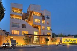 معماری و معماری داخلی آپارتمان مسکونی 210، تعامل فضاهای باز و بسته