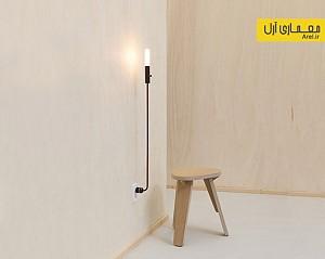 طراحی خلاقانه لامپ  ایستاده