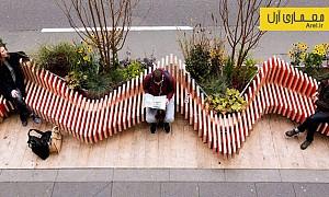 طراحی شهری: طراحی نیمکتی سبز و قابل حمل