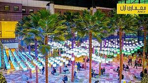 طراحی مجموعه ای از 650 فانوس برای نورپردازی منطقه ی Brookfield در نیویورک