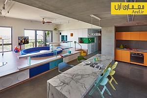 طراحی داخلی خلاقانه خانه با لگو