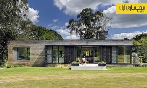 معماری و طراحی  کلبه ای سیار در دل جنگل