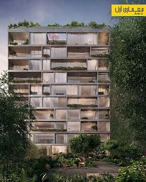 معماری و طراحی برج مسکونی Jardim در نیویورک
