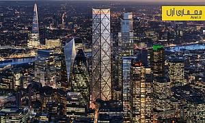 معماری و طراحی بلندترین آسمان خراش منطقه ی تجاری لندن