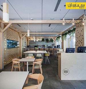 معماری داخلی کافه ی