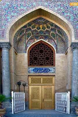 معماری مدرسه دارالفنون تهران
