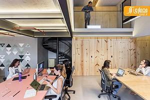 طراحی و دکوراسیون داخلی دفتر اداری Airbnd