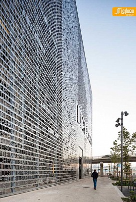 طراحی ساختمان Marseilles Docks در فرانسه