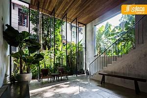 معماری و طراحی داخلی خانه Thong