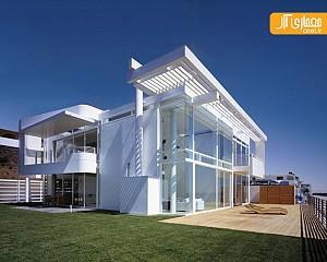 نگاهی بر معماری خانه ساحلی ریچارد میر