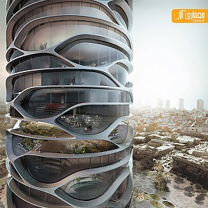 معماری برج جدید تل آویو توسط david tajchman