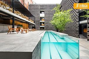 بازسازی هتل JSa در مکزیک