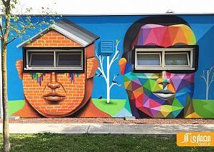 طراحی دیوار های مهدکودک با نقاشی های خلاقانه