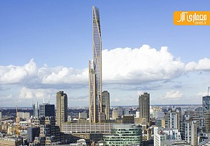 بلندترین برج چوبی دنیا در لندن